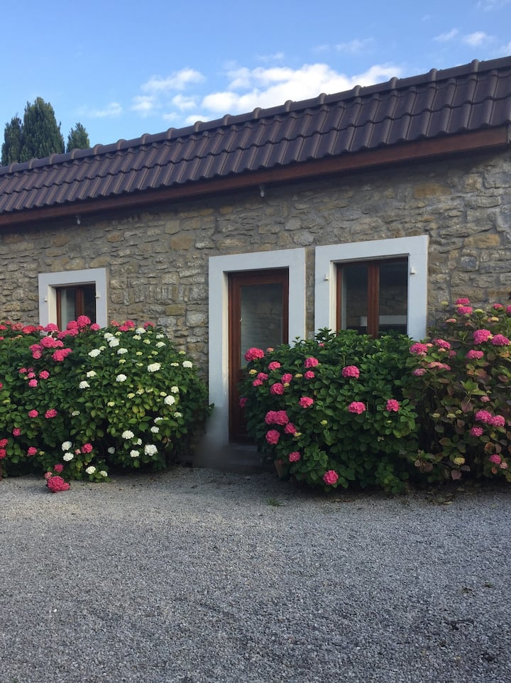 Les Hortensias, charm of the countryside in city