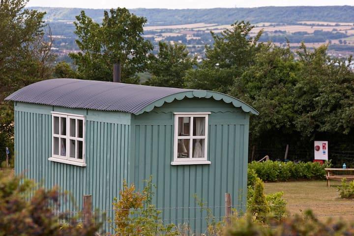 Pamela - Shepherds Hut @ Kits Coty Glamping
