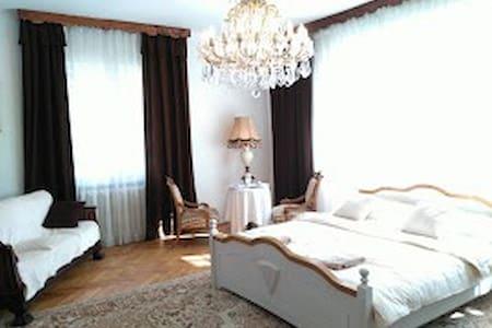 SuperiorRoom in Villa with pool 10min to center - Prague