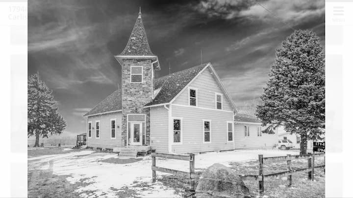 Countryside Church House Near Des Moines:Breakfast