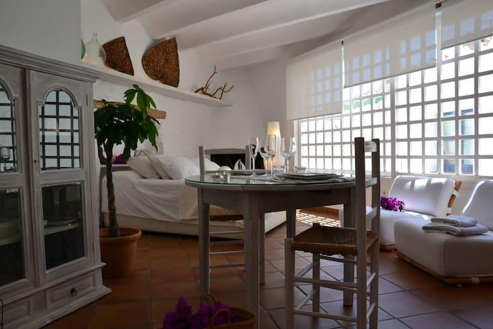 101.10_Charmant studio situé dans une des typiques rues de l'ancienne Cadaqués, rue Dr Callis