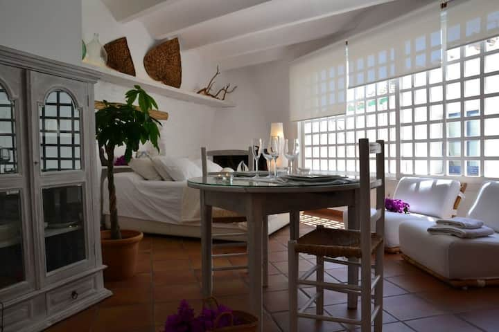 101.10_Charming apartment located in one of the most typical streets of the old town from Cadaqués.