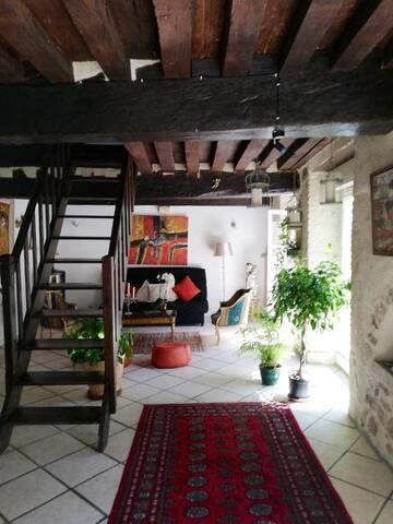 Appartement de charme dans l'Avallon médiéval