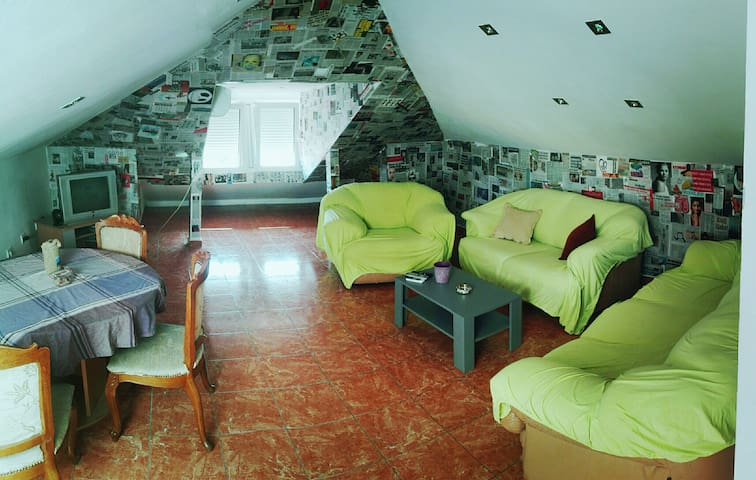 Budva, Apartment, Loft.
