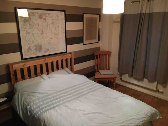 Comfortable double room in beautiful village