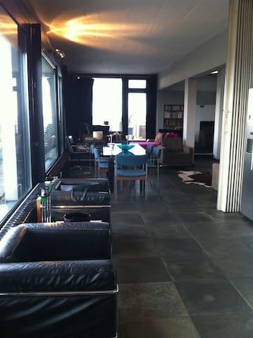 Luxus-Penthouse messenah, 200 qm - Düsseldorf - Çatı Katı