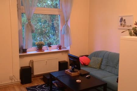 Sunny 1-room apartment in Berlin. - Huoneisto