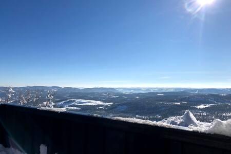 Enkel fjellhytte med fantastisk utsikt Valdres
