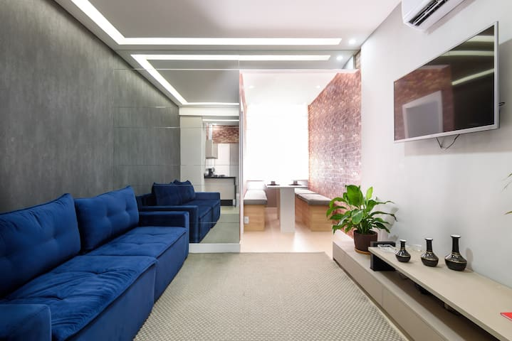 Modern 2-bedroom, 2-bathroom apartment in Ipanema
