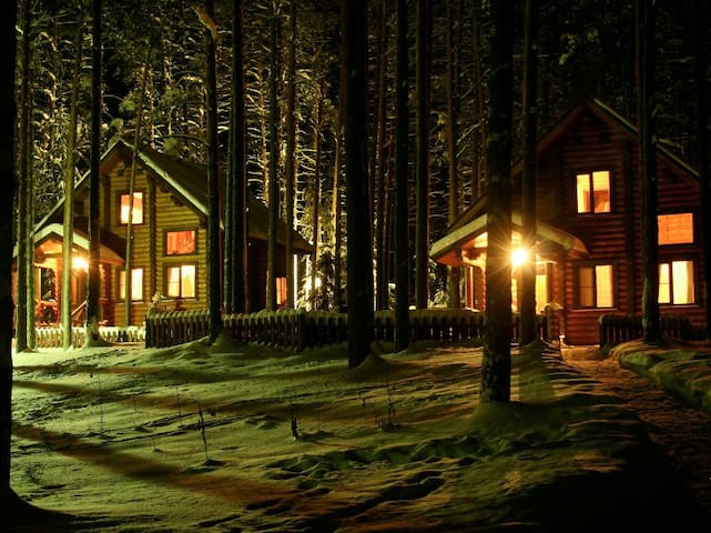 Коттеджи разных категорий - Yuryevskoye - Nature lodge