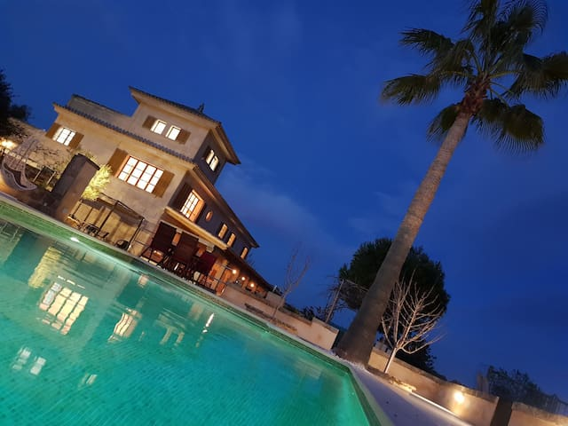 Villa  Dinastia .voley playa .resort. lujo.20 hues
