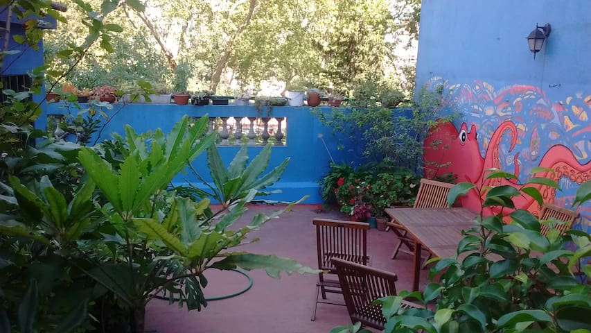 Hab. con baño y cocina propios. Terraza compartida - Buenos Aires - Dom