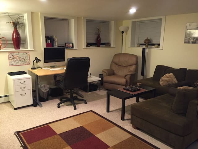 Amazing & Cozy Fully-Furnished One-Bedroom Apt. - Cambridge - Apartamento