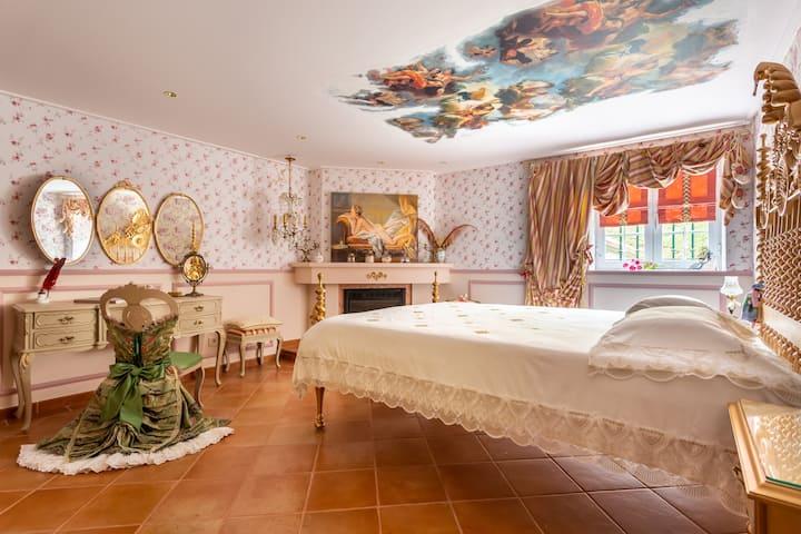 Chambre de Mme de Pompadour - Nuitée de charme