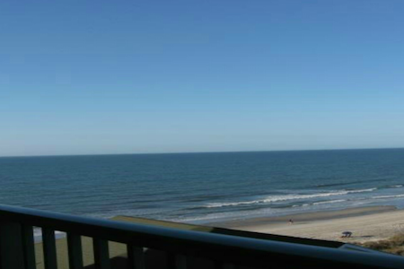 Beach Lover's Condo With Spectacular Ocean View!