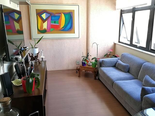 Savassi, apartamento requinte da simplicidade.