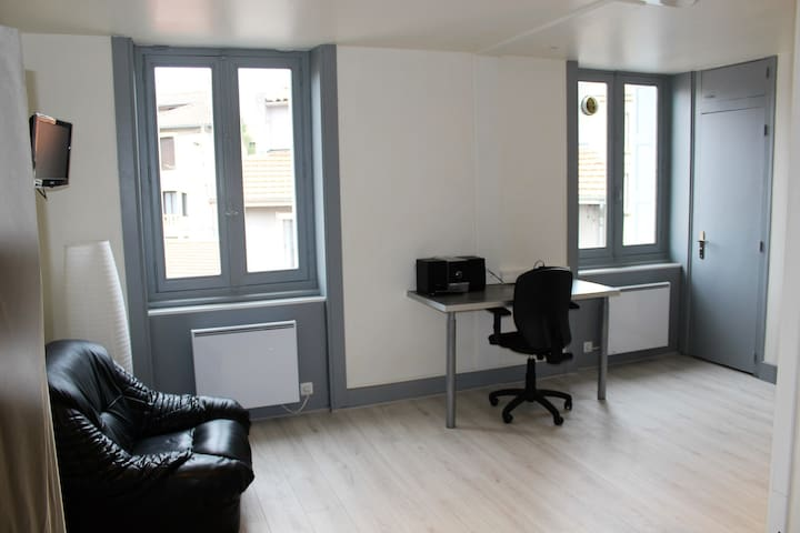 Studio meublé entièrement rénové - Saint-Étienne - Apartamento