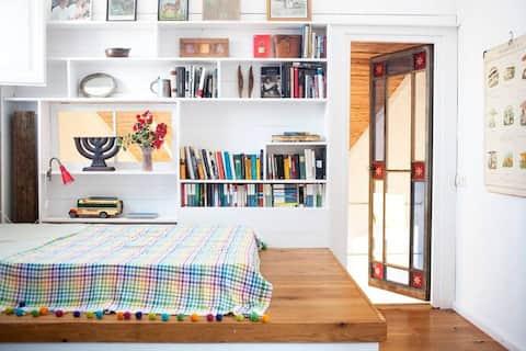 Habitación doble en preciosa casa en el Empordà