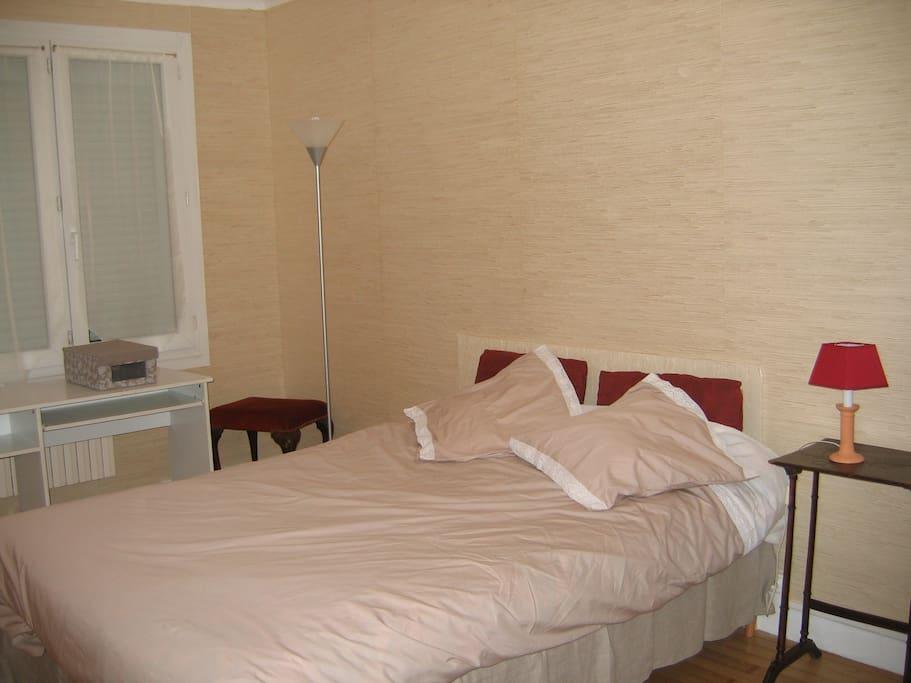 chambre 5 mn bord de mer maison calme avec jardin houses for rent in saint nazaire pays de. Black Bedroom Furniture Sets. Home Design Ideas