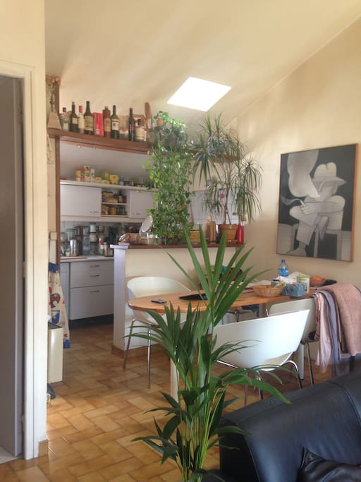 cuisine/salle à manger (climatisé) 3° étage