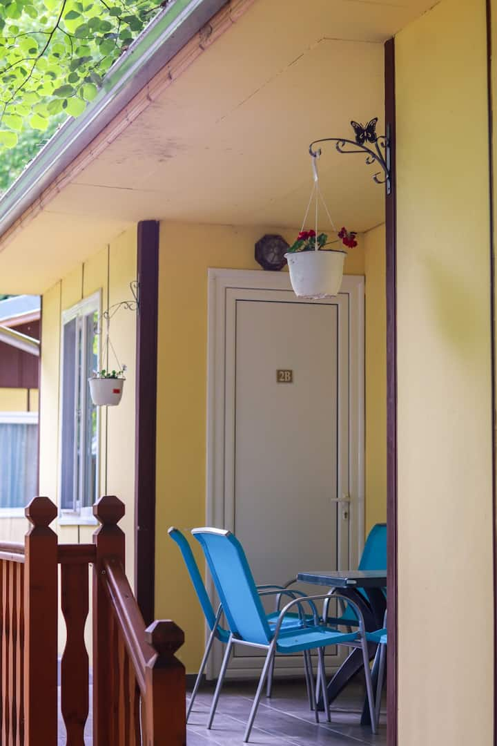 Cosy bungalow for 2 or 3 persons