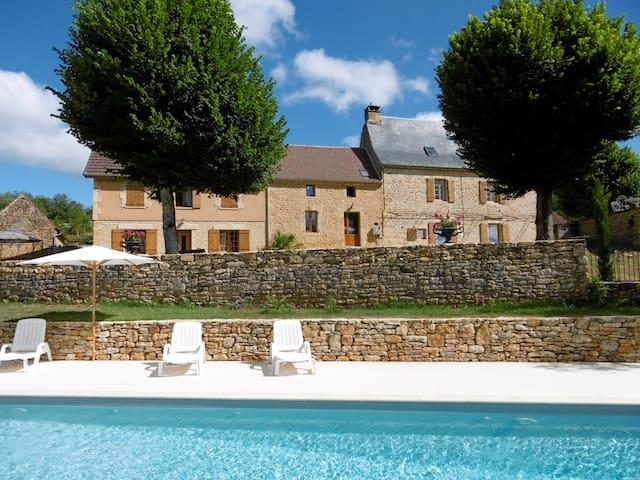 Maison Pradine - (11 pers.) - à 6 km de Sarlat