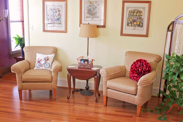 Sitting space in Century room