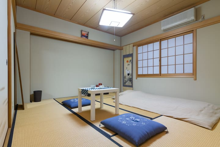 Japanese room in NAMBA  2or3 guests
