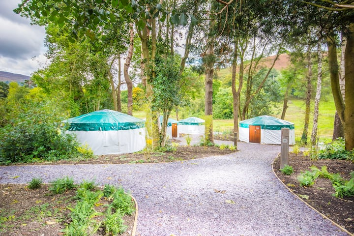 The Glamping Village at Tyn Dwr Hall
