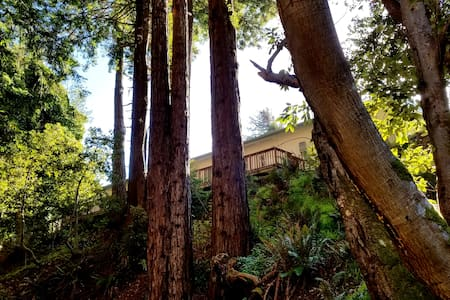 IRIS SUITE - Romance in the redwoods by the creek! - Gualala - Lakás