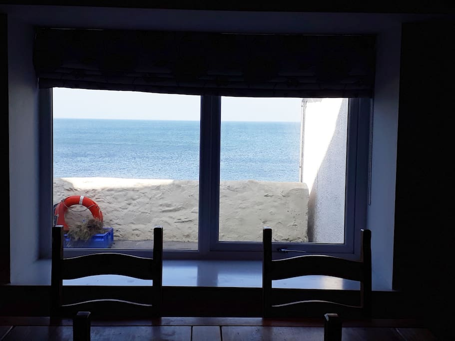 Sea view from Kitchen