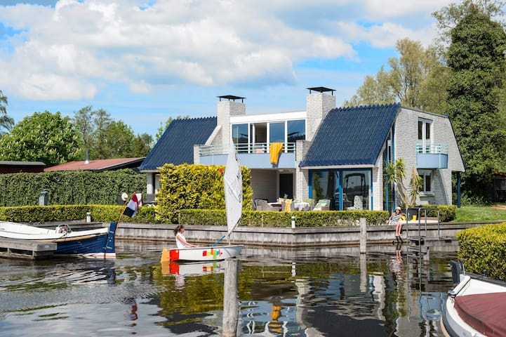 Amsterdam:.Loosdrecht Semi Detached - Loosdrecht - บ้าน