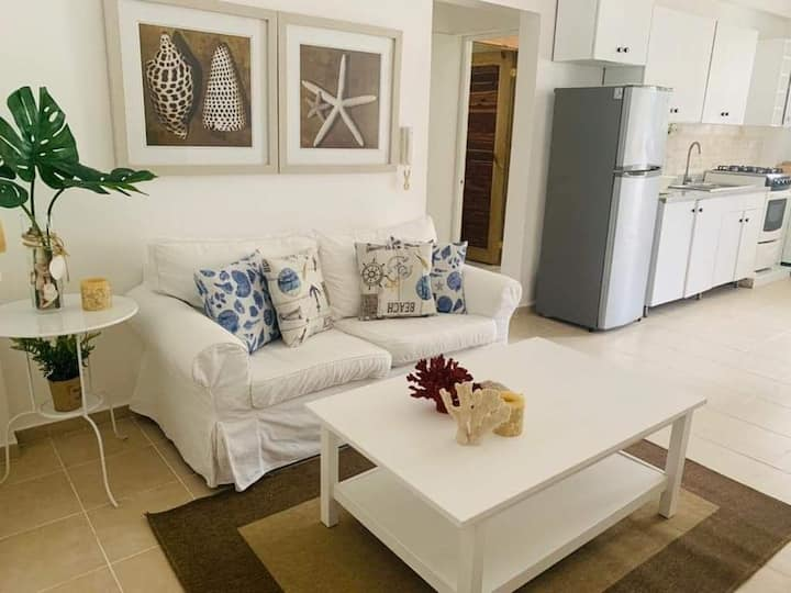 Steps from the beach, beautiful and impeccable apt