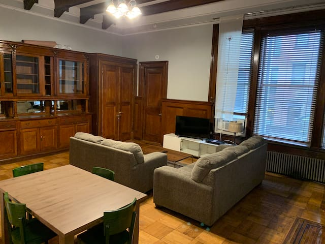 Charming Pre-war 1 Bedroom with Large Living Room