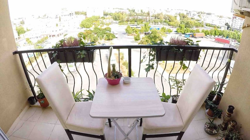 2 bedroom flat with view,in the heart of Famagusta
