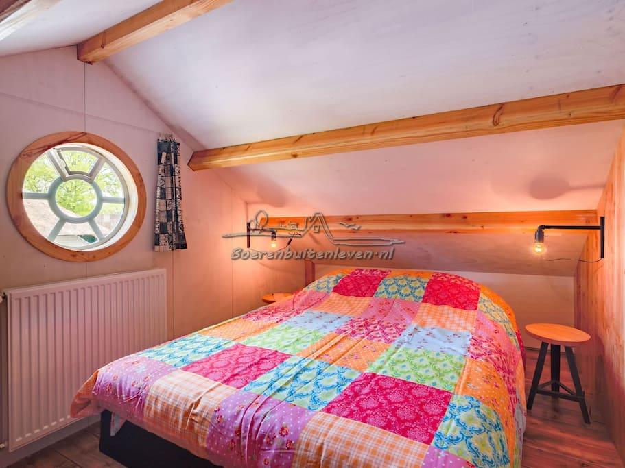 2 Persoons slaapkamer met centrale verwarming