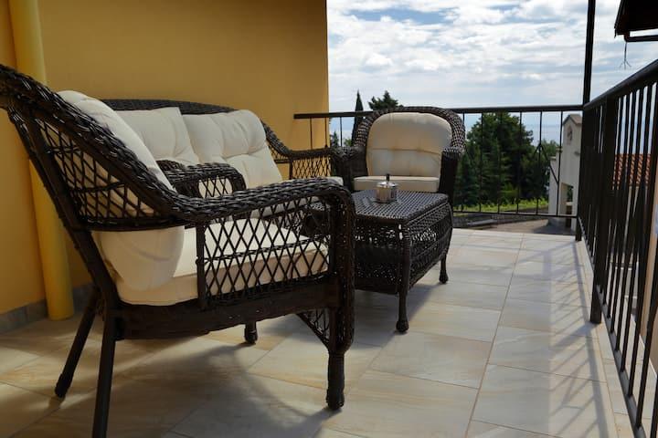 Villa Celzia-2 Bedroom Apartment-Balcony, Sea view