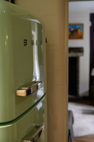 Fabulous Smeg fridge/freezer