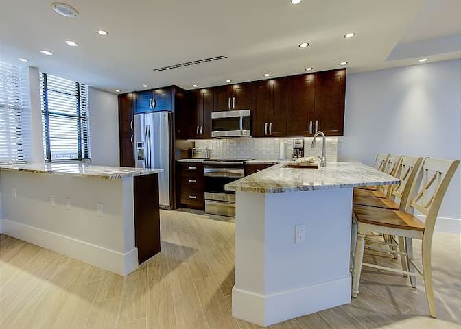 Beachfront 2/2 w / $150k renovation completed!!!