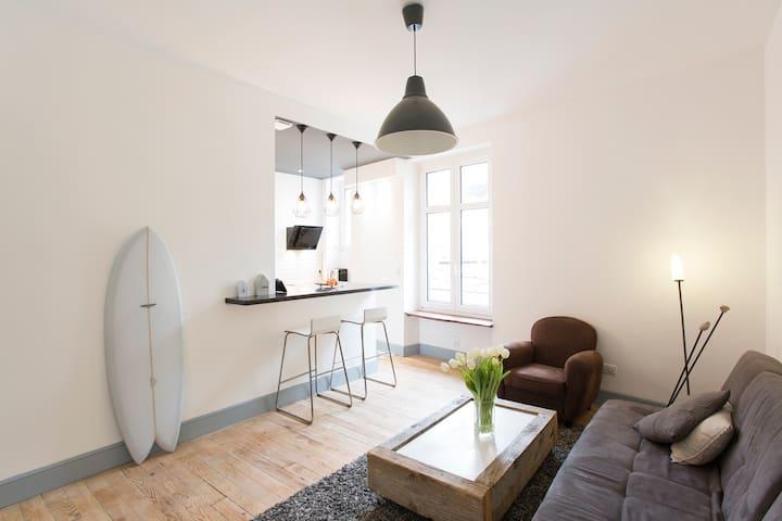 Hyper centre Biarritz, Magnifique T2 refait à neuf - Biarritz - Apartamento