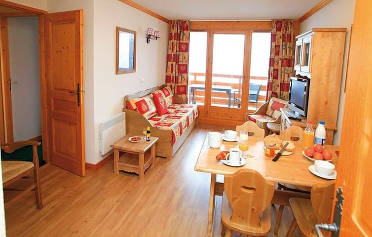 Appartement cosy avec piscine - Valloire - Apartment