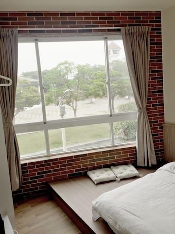 新館雙人家庭房(可免費攜帶5歲以下幼兒) - Anping District - Guest suite
