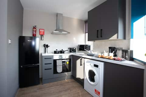 Fresh Modern 1Bd Apartment in Centre of Wigan