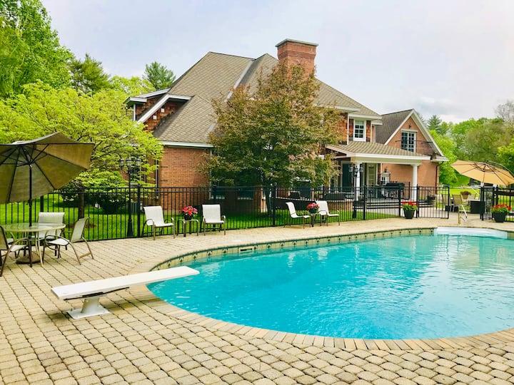 Private Estate in Saratoga Springs