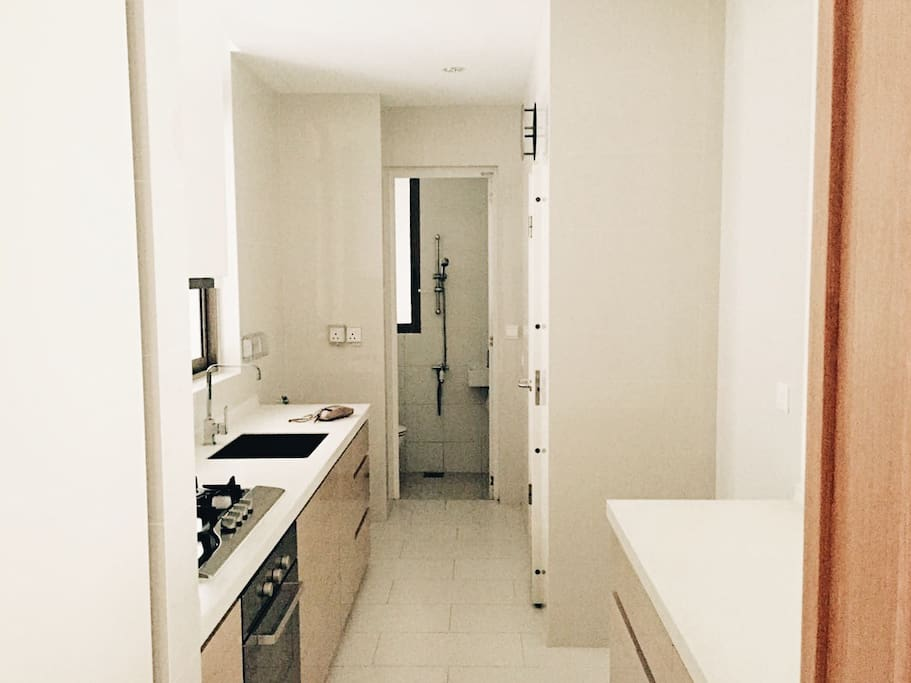 Kitchen + Toilet + Storeroom