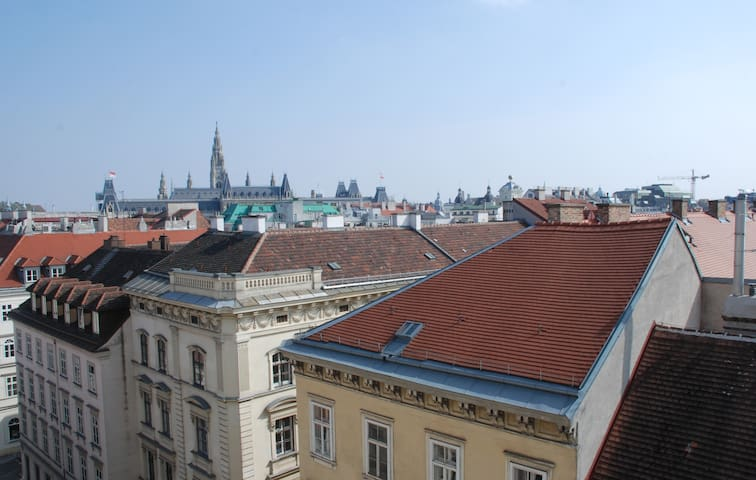 A view above Vienna      Florianigasse 16