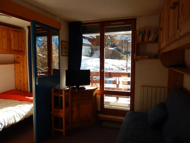 PARADISKI  Appartement CRET DE L'OURS A VALLANDRY