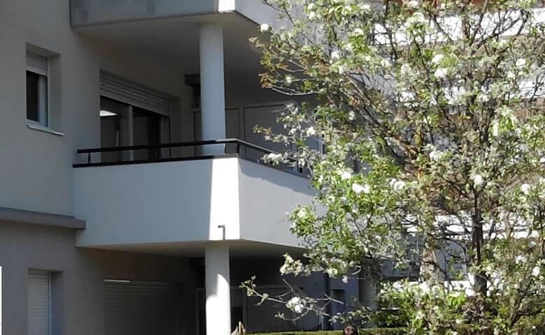 Charmant T2 avec terrasse et parking sécurisé