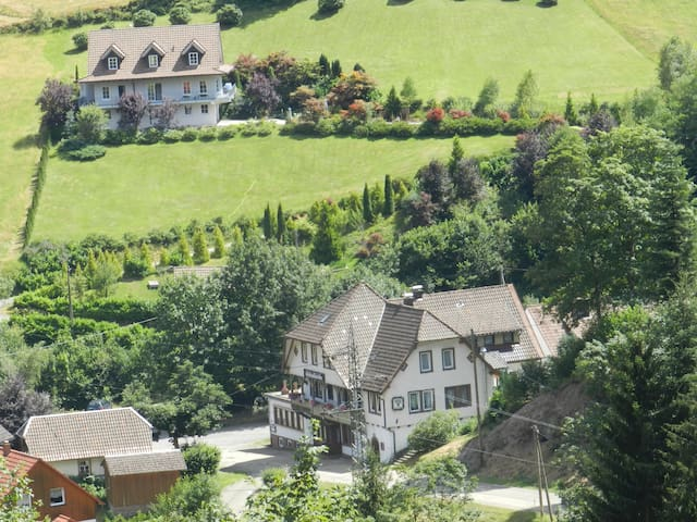 Hostal Black Forest 6-8 Pers. - Bad Rippoldsau-Schapbach - Sala sypialna