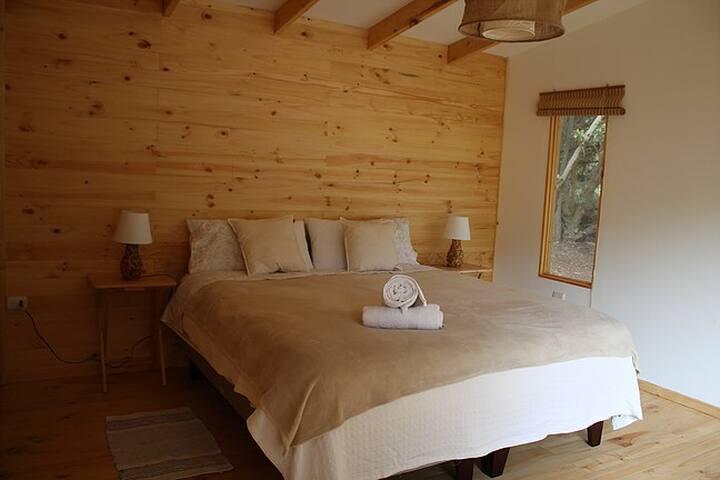Cabaña para 2 personas, Hostal El Arbol II